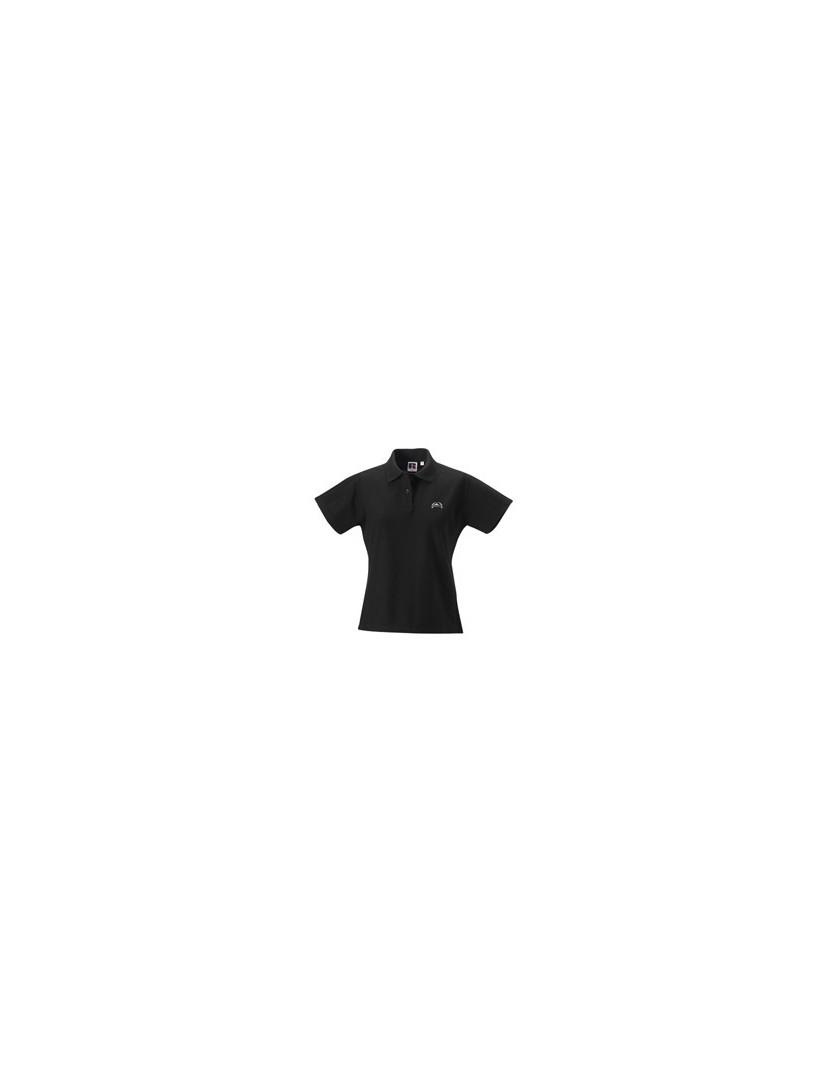 Polo-Shirt Damen schwarz