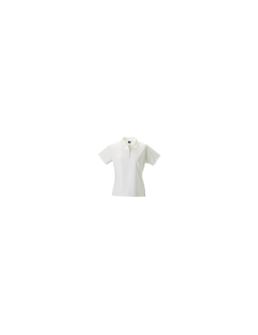Polo-Shirt Damen (weiss)