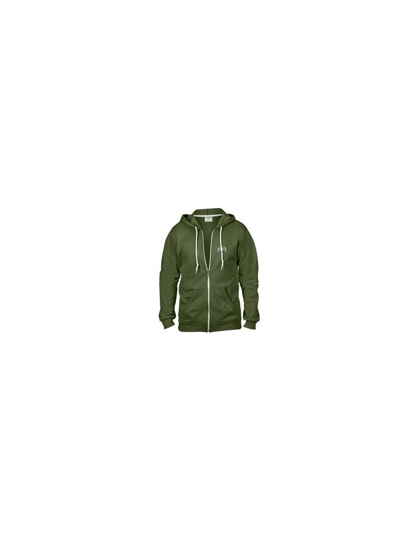 Sweat Jacke Damen (grün)